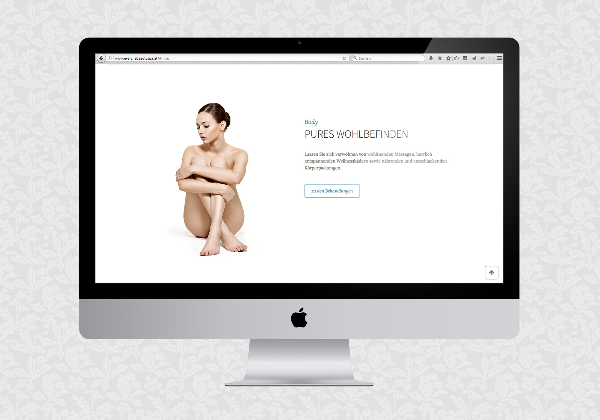 Website für Evelyn's Beauty Spa