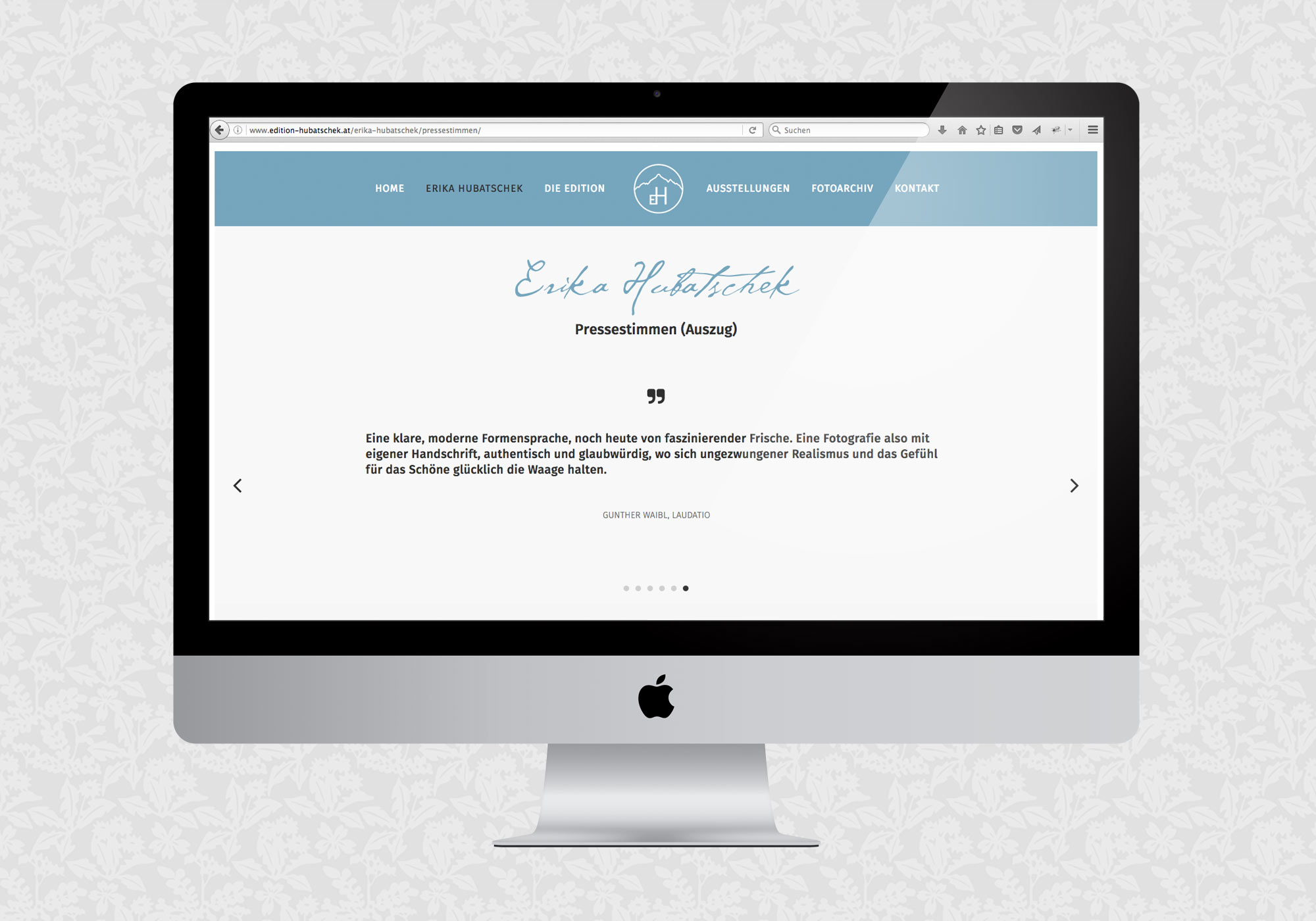 Website Edition Hubatschek