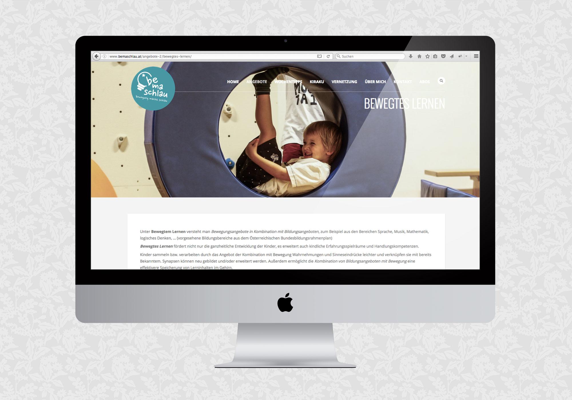 Website für Bemaschlau