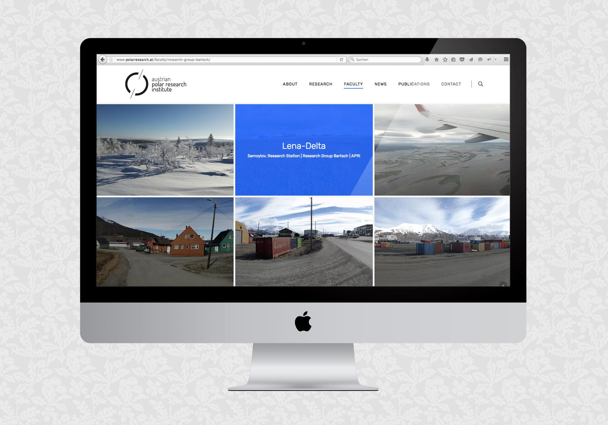 Website für APRI | © fein fein