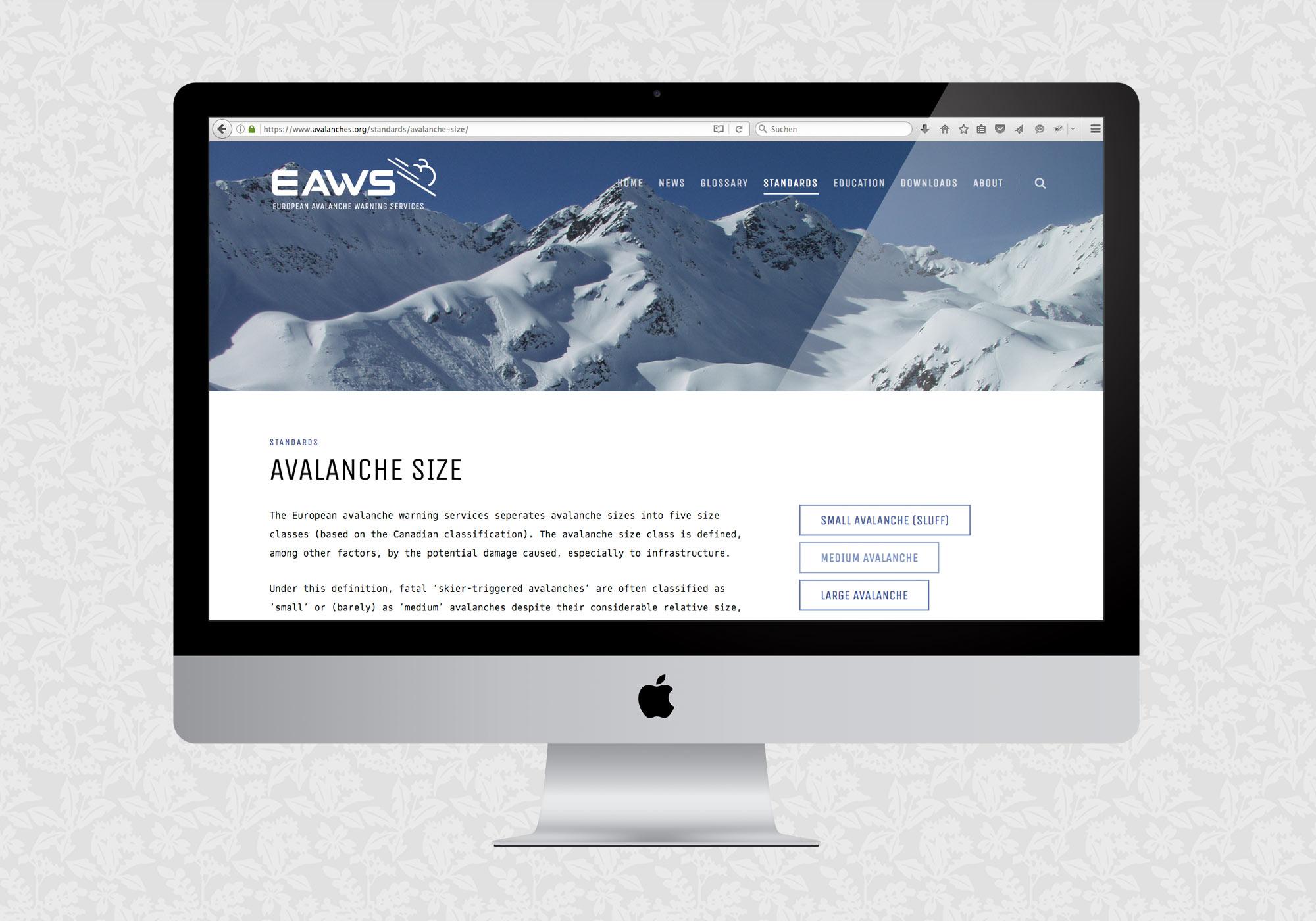 Website für EAWS | © fein fein