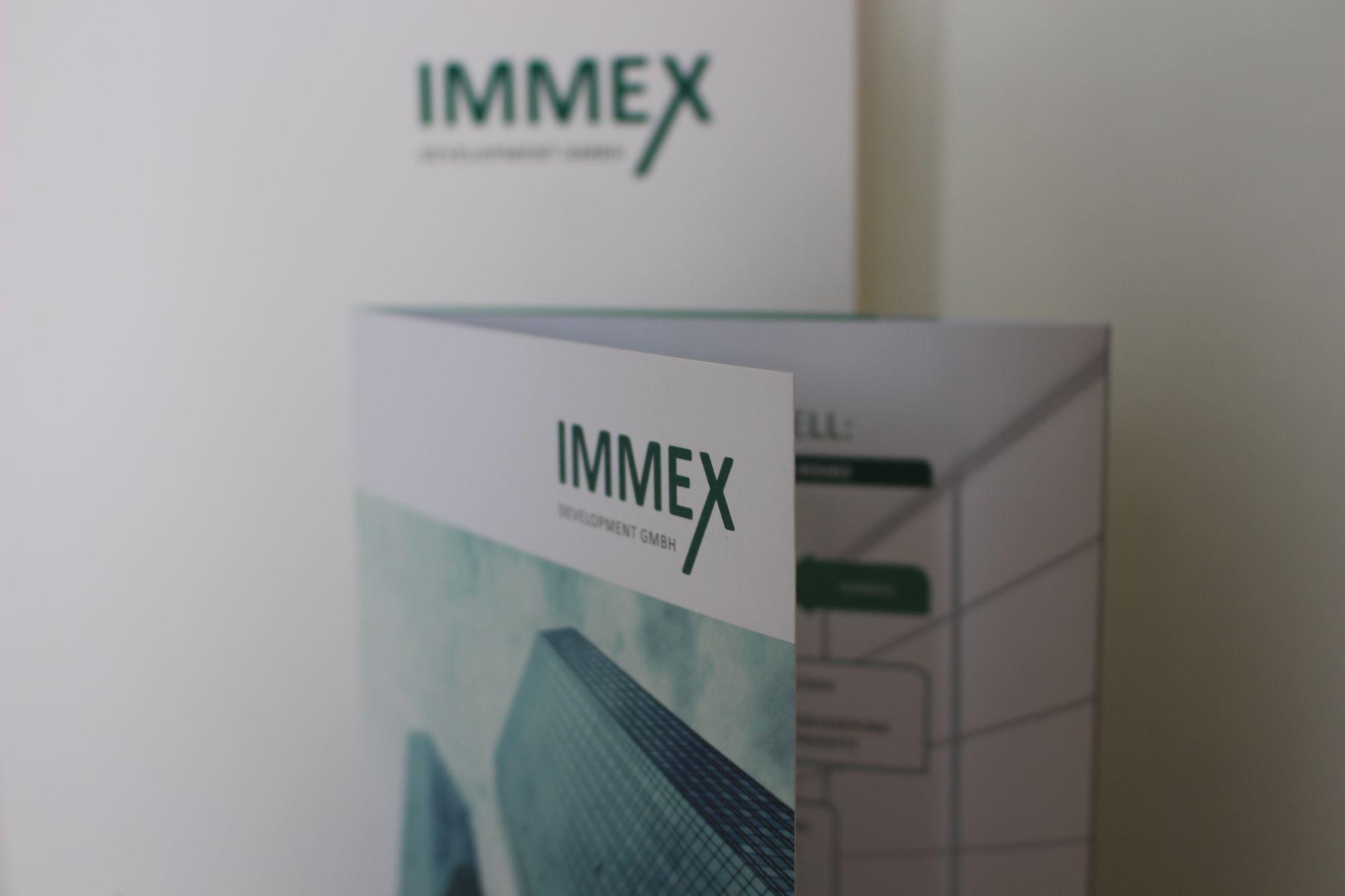 Drucksorten für Immex Development GmbH