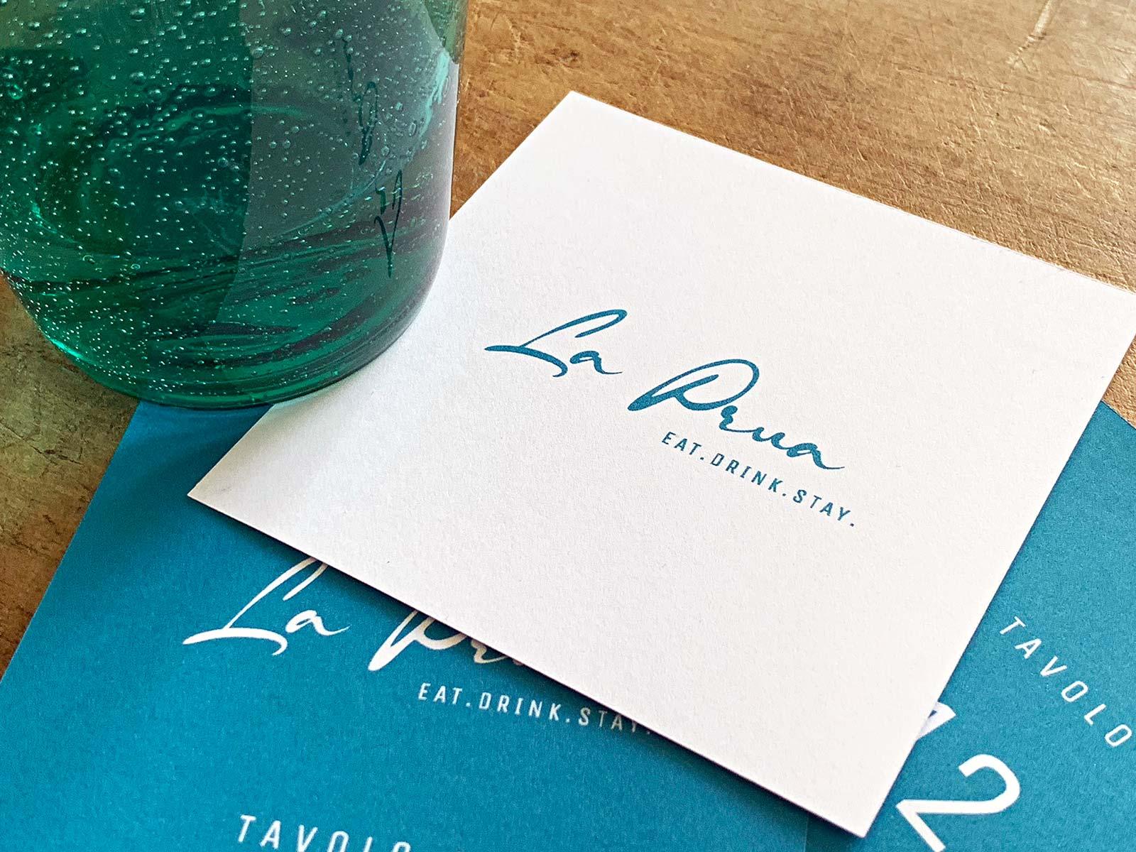 Logo für das Ristorante La Prua, C&C Hotels | © fein fein