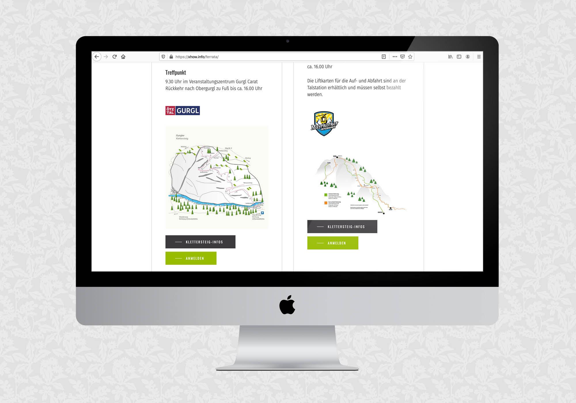 Website für xhow | © fein fein