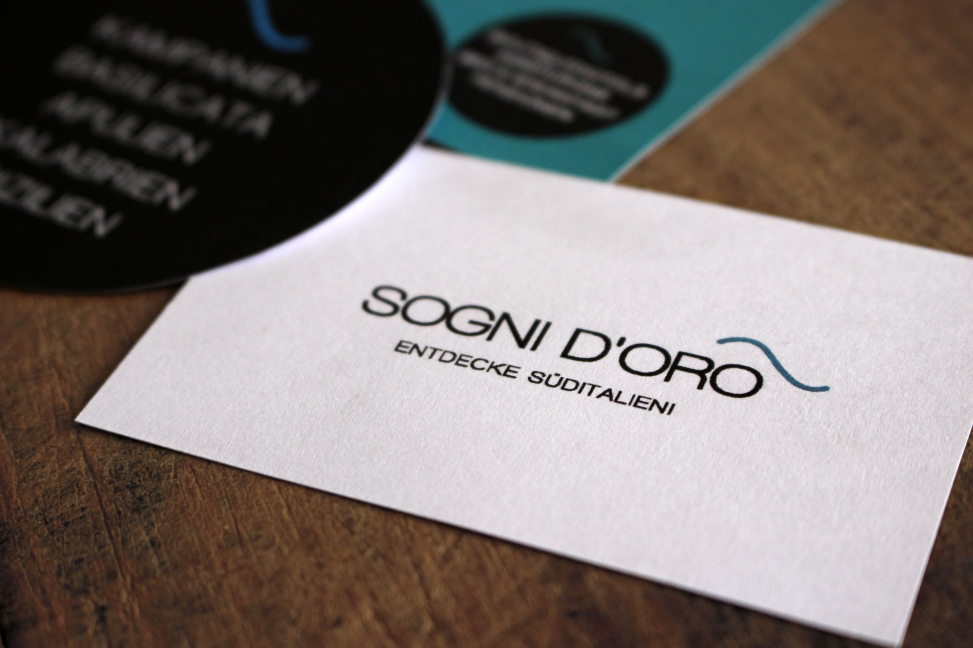 Corporate Design für Sogni d'Oro