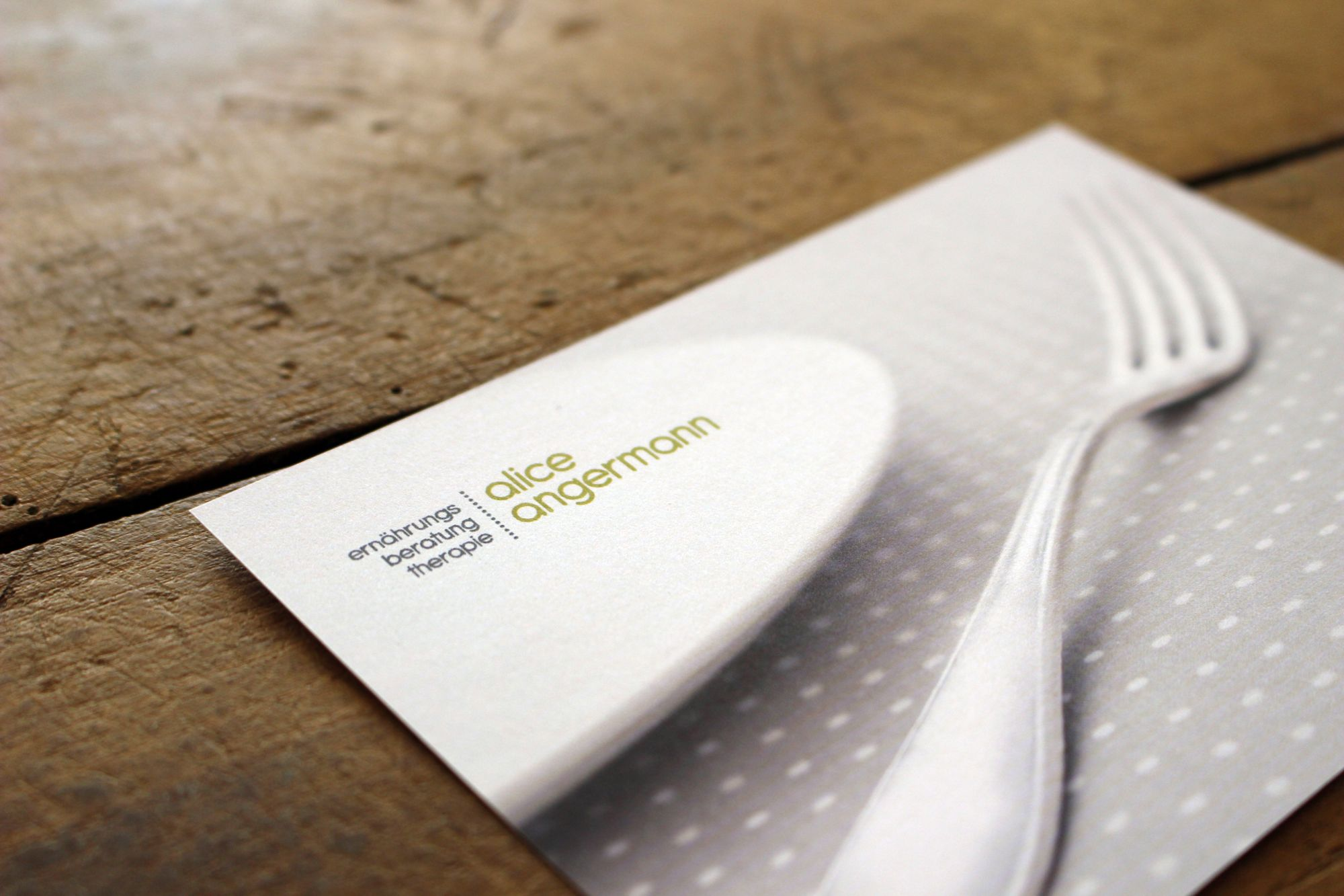 Corporate Design für Alice Angermann