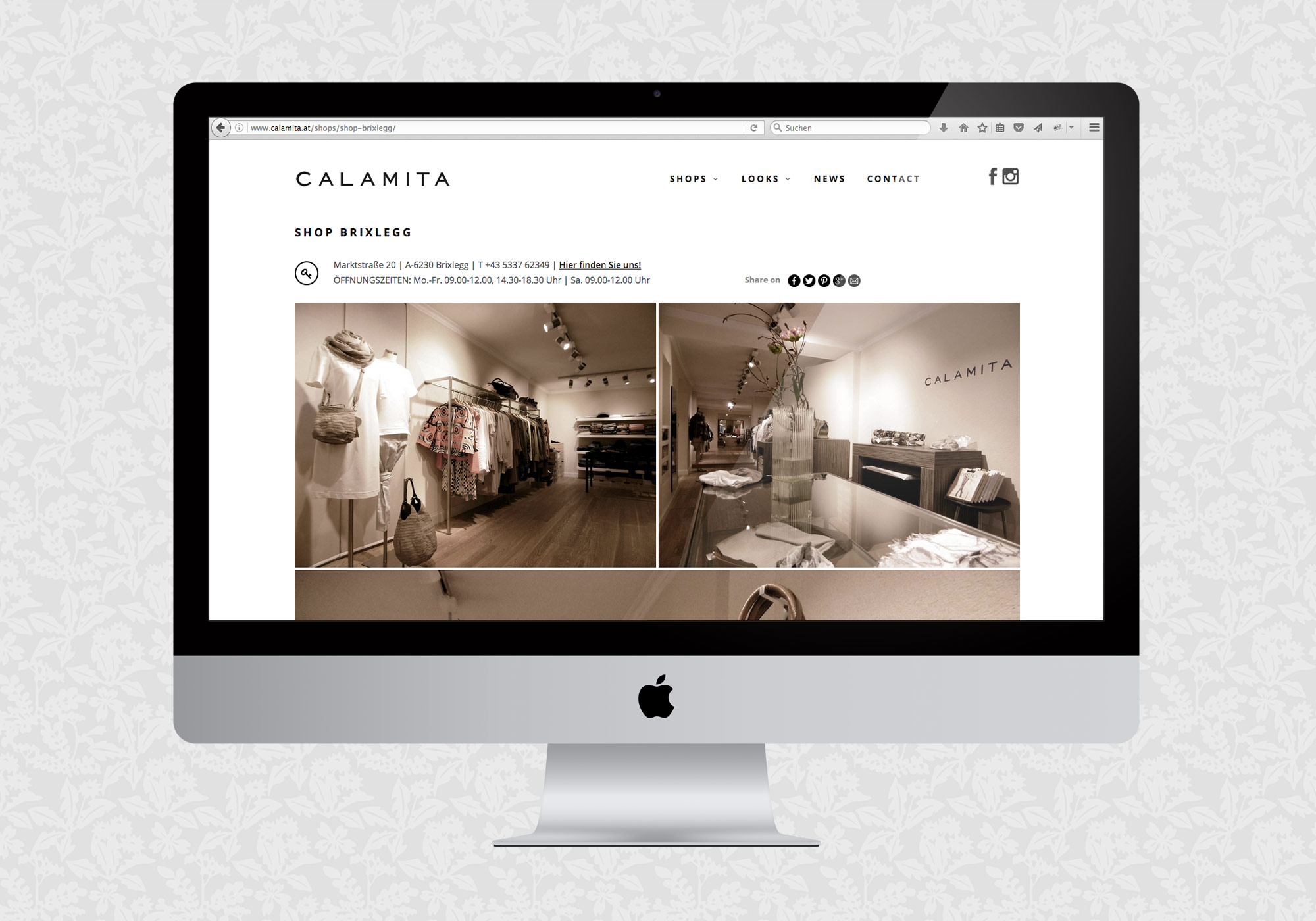 Website für Calamita