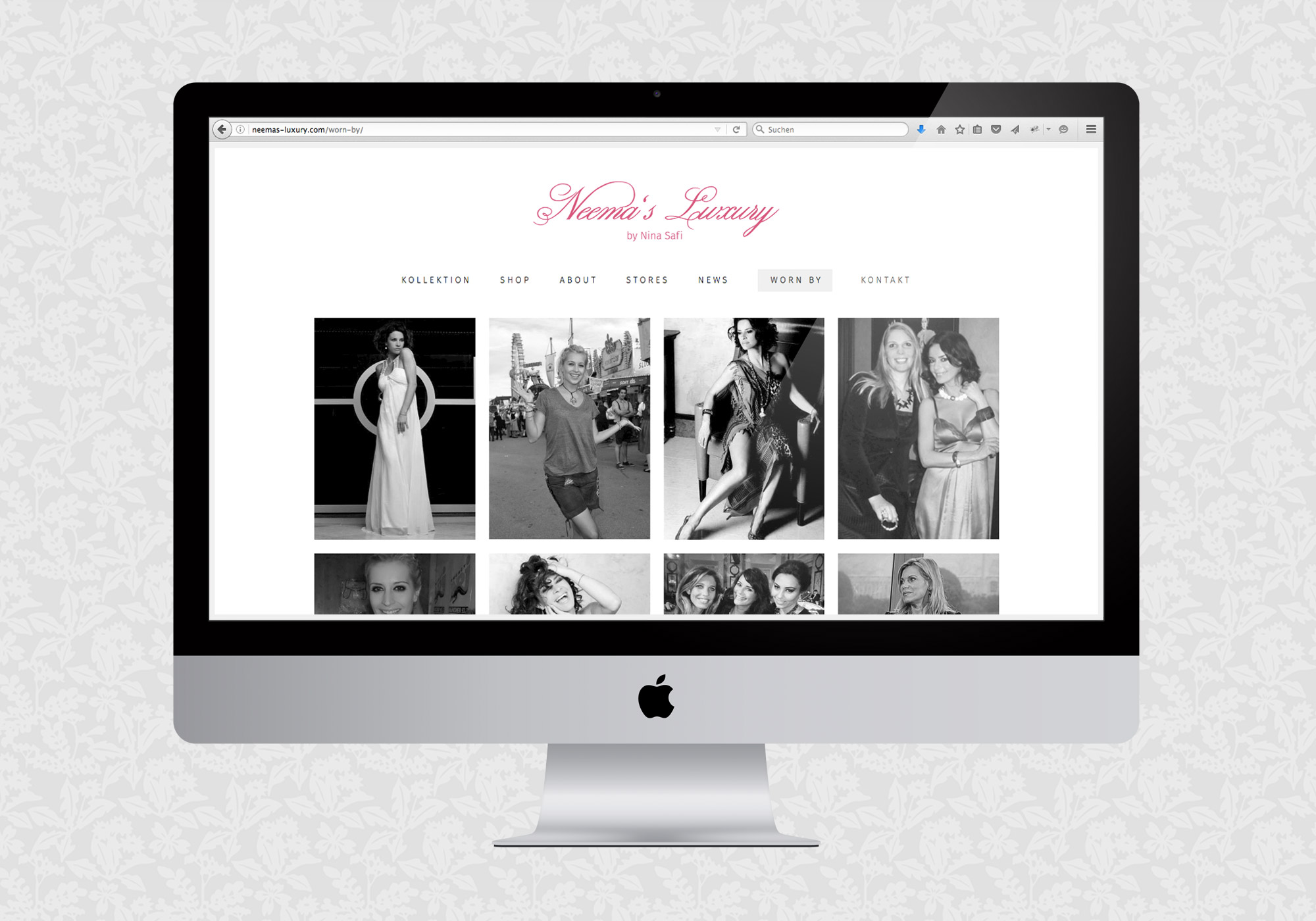 Website für Neema's Luxury