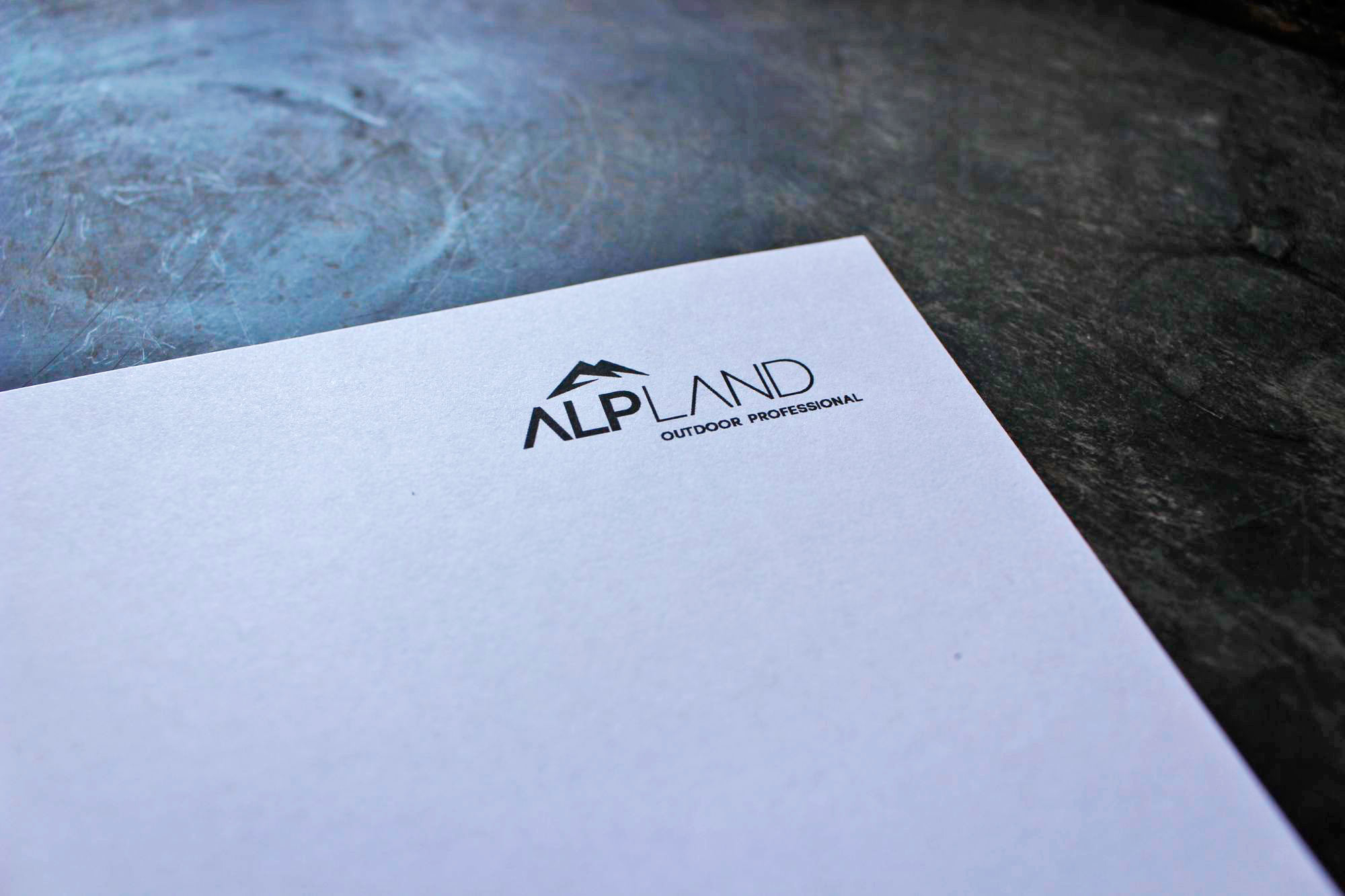 Corporate Design für alpland