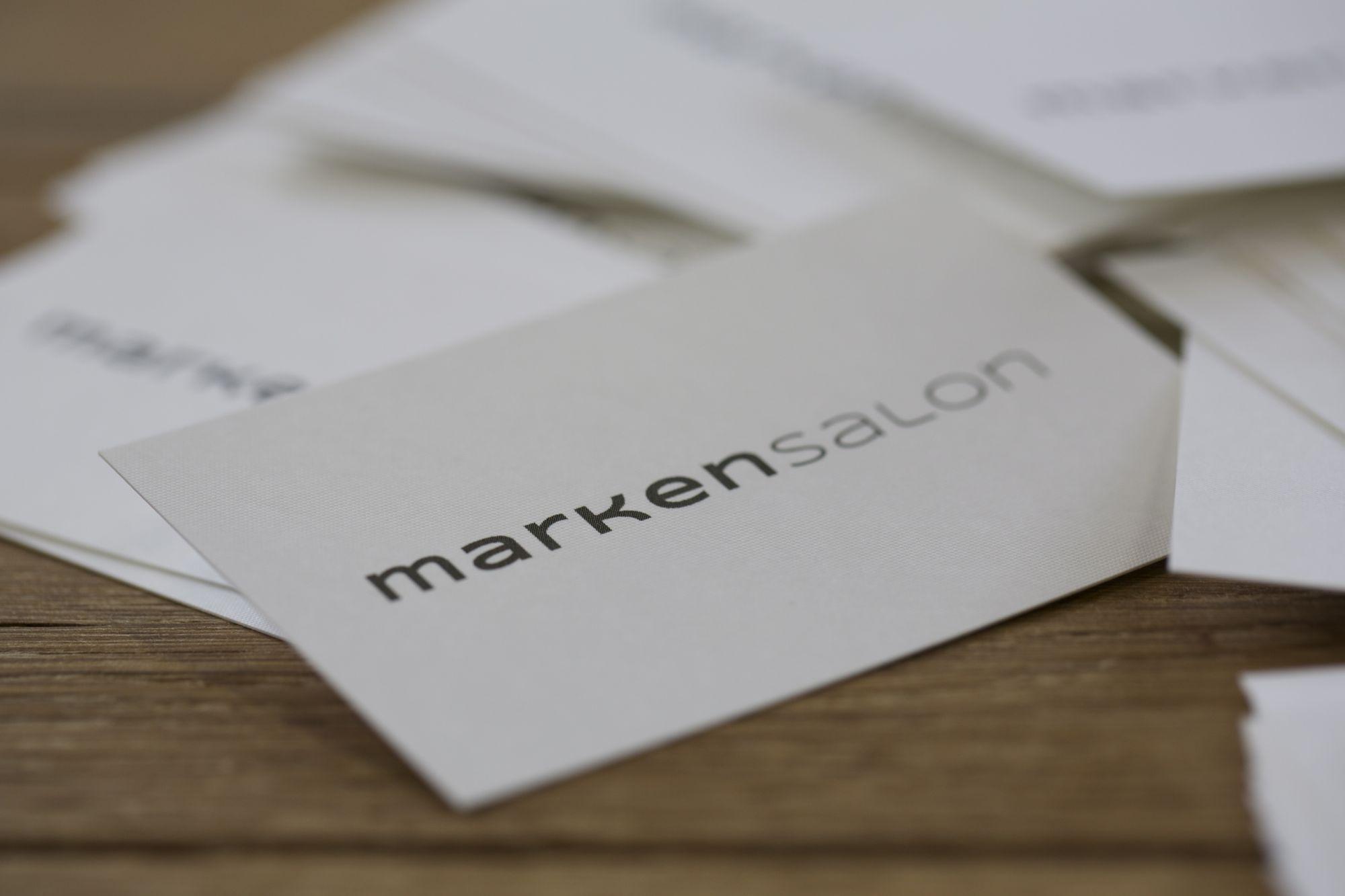 Visitenkarten für markensalon