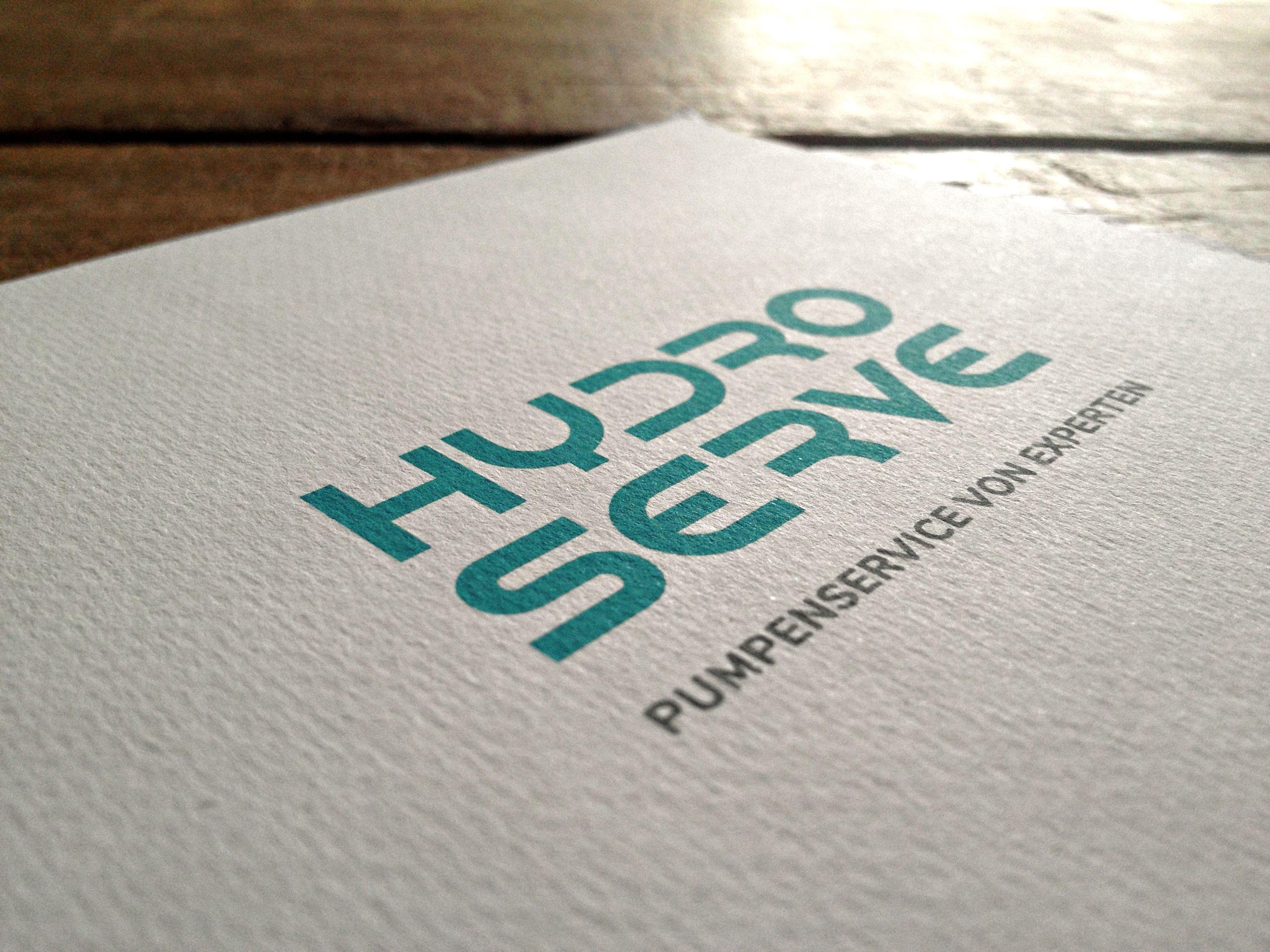 Corporate Design und Geschäftsausstattung für Hydroserve