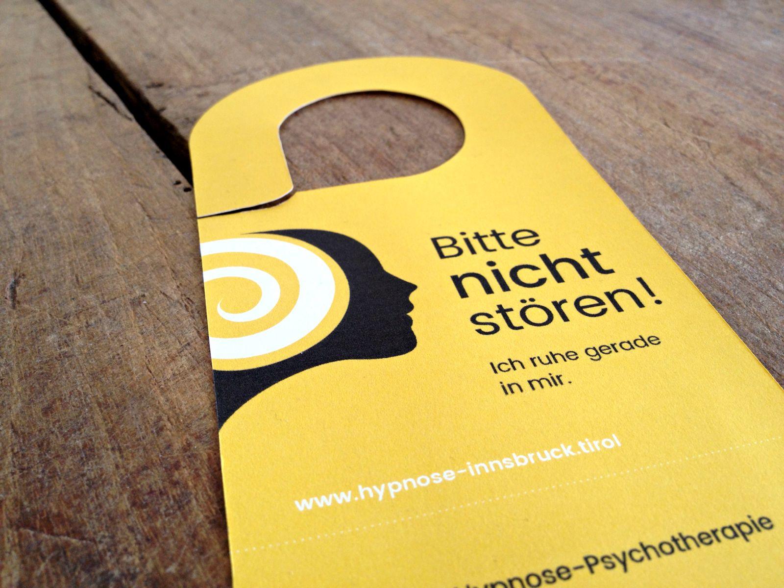 Türhänger für Ruth Paul / Hypnose-Psychotherapie