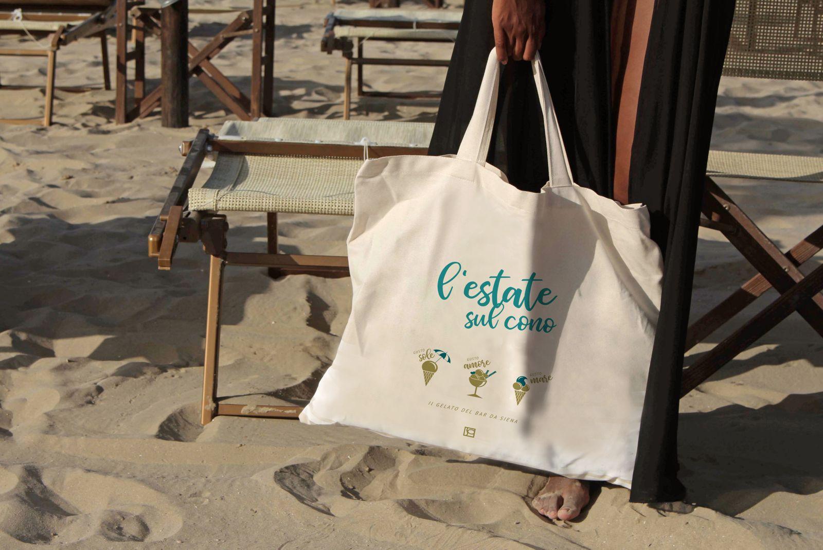 Strandtasche für die Bar da Siena