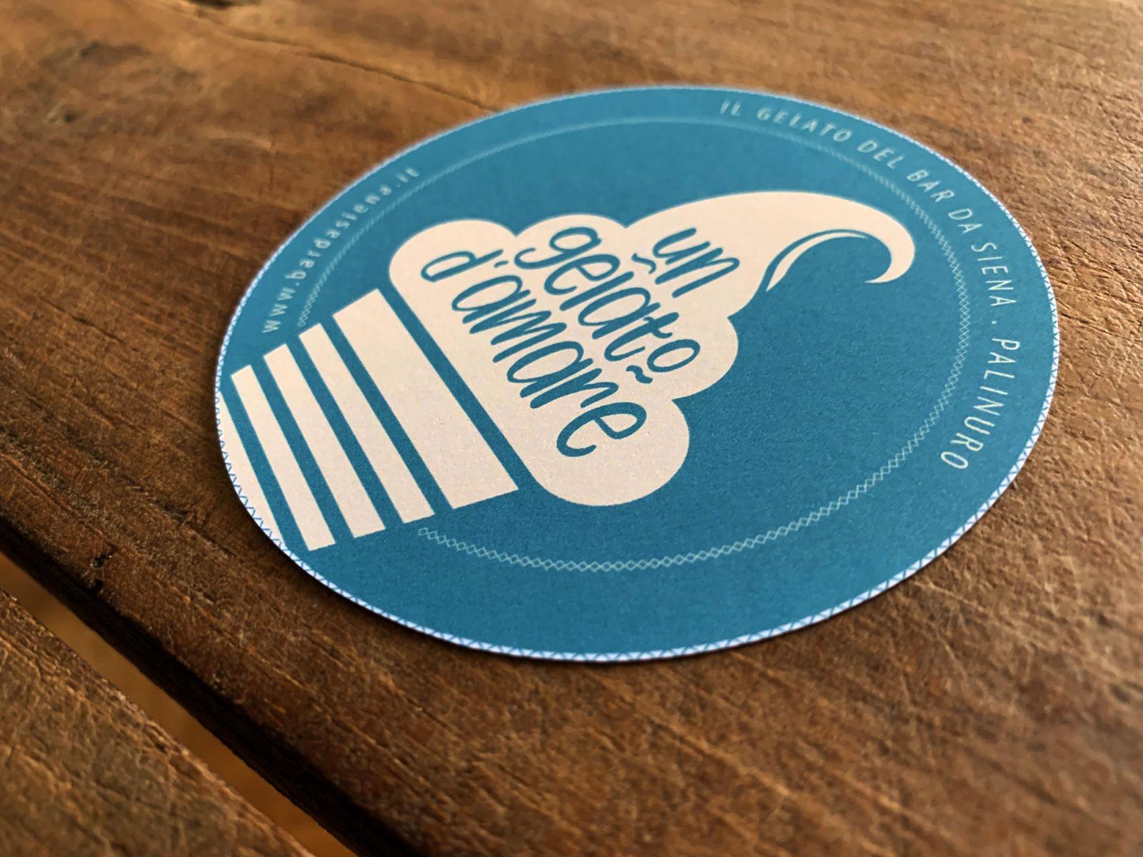 Sticker für die Bar da Siena | © fein fein