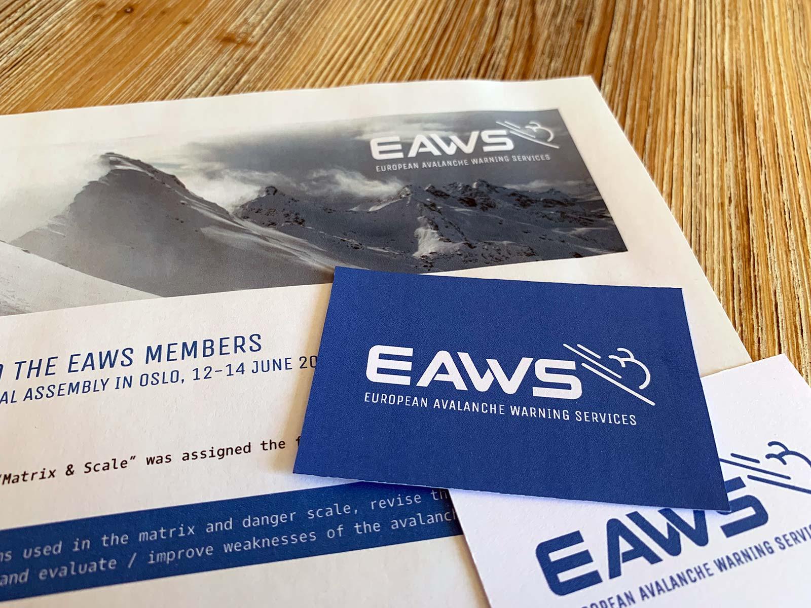 Corporate Design für EAWS | © fein fein
