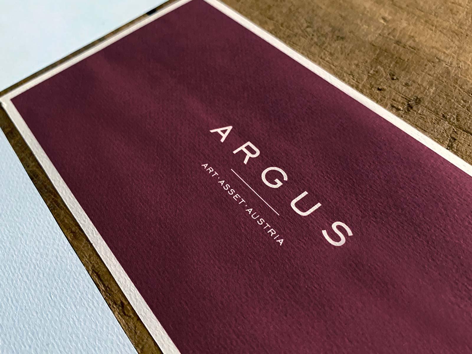 Corporate Design & Drucksorten für ARGUS | © fein fein